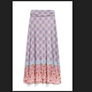 Loveappella Zaria Border Maxi Skirt Stitch Fix